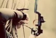 Archery / focus / by Drika Drikolina