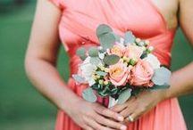 My Wedding 09.05.14 / Coral, Peach, Kraft, Gold