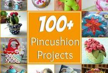 Pincushion Crush / Welcome to my crush! Pincushion (noun) a small cushion into which pins are stuck for convenient storage.     Enjoy the inspiration.  / by Heather Valentine