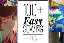 SEWING: Tips to help Improve your sewing. / Easy Sewing Tips to help keep your projects polished and professional.  / by Heather Valentine