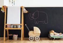 Kids Stuff / I love a kids room or space that is not too matchy or all one color.  My favorites are those that are filled with things they love, but organized in a way that creates calmness to encourage creativity.