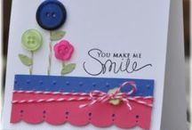 Card making / by Chloe Watson