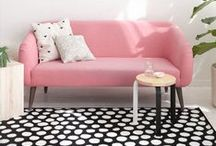 Apartment Style / Decor for Modern Women in Small Spaces / by the tiny twig