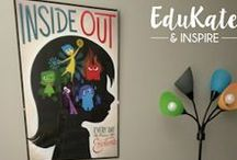 EduKate & Inspire Posts / The board showcases popular posts on my blog, EduKate & Inspire.