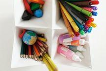 organize + storage / by Courtney Biggs