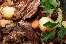 Recipes To Try - Beef, Veal, Lamb & Pork Entrees