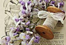 Rèves en mauve / violet mauve parme...
