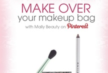My Mally Beauty Makeup Bag Makeover / My Loves, Make over your Makeup Bag with Mally Beauty by entering the contest and you could win your most desired Mally Beauty makeup bag and FIVE Mally Beauty products! Contest details are pinned below and official contest rules are available here: http://www.mallybeauty.com/pinterest-contest-rules / by Mally Beauty