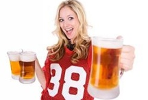 Epicurious Game Day Giveaway / The Girls Night Out - The girls-only Super Bowl Party! Dress up in your favorite jersey and no salads allowed! There's more to Super Bowl Sunday than the actual playing of football. Take it as reason enough to party with your besties and bring the girls together for a fun night. Put a more feminine twist on the traditional Superbowl party and also keep the fun flowing!  / by Tamyra Vest