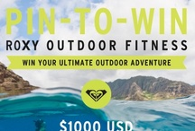 My Outdoor Adventure / Roxy Outdoor Fitness is great for living a Roxy Outdoor Fitness Adventure!