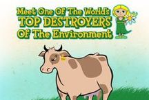 Vegan For The Environment / Environmental Impact of Food Production & Consumption / by Ordinary Vegan