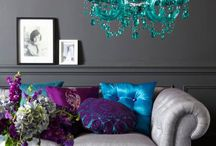 Living-in-Style Room / Posh but comfy, like sequins and flannel  Living room, family room, rec room, do-it-all room / by Alysha Daly