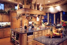 Kitchens...Over-The-Top / Kitchen Layouts / by Sunny Smith