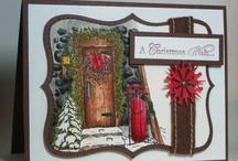 Cards Christmas SU Home for Christmas / by Soni Larson