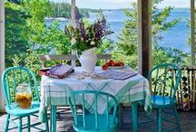 Outdoor Living / Swimming Pools, Grotto's, Cabana's, Porches, Decks, Balconies & Hot Tubs / by Connie Perteet