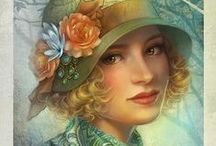 Vintage Glamour Art / by Connie Perteet