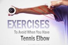 Tennis Elbow Exercise And Rehab / When should you start exercising when you have Tennis Elbow? What are the goals of rehab exercises?... And what does it mean if exercise seems to only make your Tennis Elbow worse?