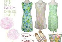 Vintage Lilly Pulitzer Clothing / Lilly Pulitzer will forever leave a legacy on preppy fashion, bright prints, and whimsical patterns.  Here are some of our favorite Lilly Pulitzer clothing, both vintage and current.