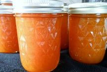 Jellies, Jams and Sauces / What to do with home grown fruit... / by DeeAnn Lancaster