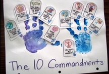 (Y3 Q1&2) 10 Commandments- Religion / Ideas for teaching the 10 Commandments at home and in the classroom. Matching Catholic Schoolhouse Religion for Year 3, Quarters 1 and 2.
