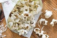 Popcorn Recipes / I will always choose hot buttered popcorn over chocolate.