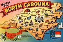 North Carolina / by Theda Weatherly