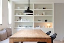 home dining room / live, laugh, love .... family life takes place around the dining table