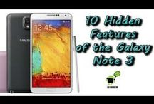 My Galaxy Note 3 / Information / by Sunny Smith