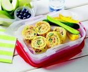 Eggs On-the-Go / Quick & portable, these recipes will fuel your family in a flash!