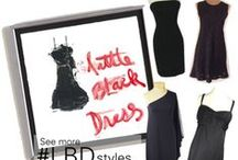 "LBD/Little Black Dress / Every girl needs a go-to""LBD"" or Little Black Dress! See what we've got over at www.backinstyle.com"
