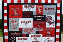 T-Shirt & College Quilts / by Rhonda Christopherson