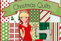 Christmas Quilts / by Rhonda Christopherson
