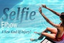 Selfie Elbow / The Selfie Elbow Injury phenomenon. How so many people are developing injuries from taking excessive selfie snaps - And what to do about it.