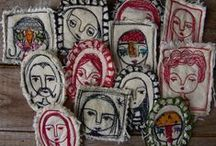 Fiber Art / creative fiber art, embroidery stitches & inspiration