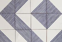 pattern geometrics / squares, dots, circles, lines combined to patterns