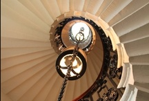 A STEP ABOVE THE REST~ / WROGHT IRON RAILING, STAIRCASES,  STYLES, INTERIOR, EXTERIOR, EXQUISITE~~~~ / by Renee Huddleston