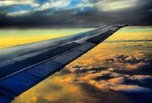 #AmericanView / From bustling cityscapes to rolling clouds and patchwork quilts of land, you've captured beautiful views from the wing. Here are some of our favorites.   Share yours with #AmericanView. / by American Airlines