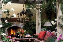 GREAT PATIOS AND PORCHES / by Mary C