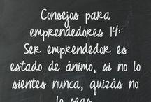 Consejos para emprendedores / by Alfredo Vela