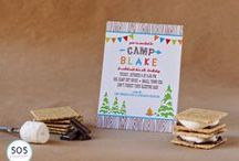 Camping Party / by Cathy C - 505 Design+Paperie