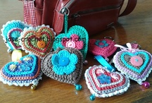 CROCHET CROWNS AND HEARTS