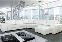 Skórzane meble wypoczynkowe / Leather lounge furniture
