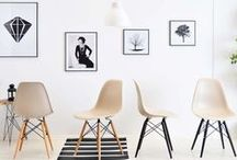 Pastelowe wnętrza / Pastel interiors
