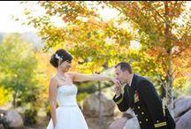 Fall Weddings / Beautiful Fall Wedding Photography