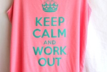 Work it girl / Working Out / by Leah Harvard
