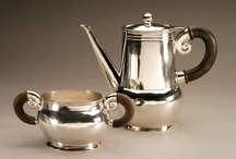 ANTIQUE SILVER TEA & COFFEE SETS