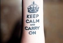 keep calm / by LiLian Lee