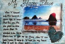 Haleighanna's Art Journals / Inspiring art journal pages and ideas. / by Holly Shaw