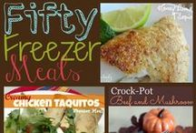 Freezer and Slow Cooker Meals