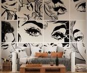 pop art walls